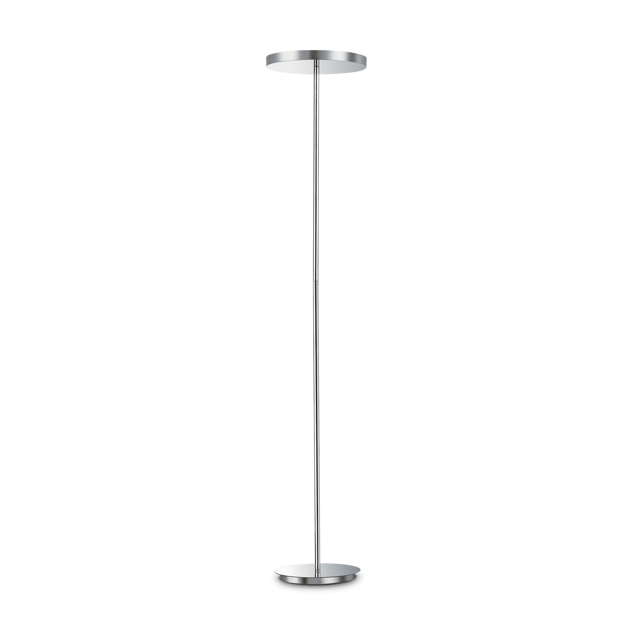 Торшер Ideal Lux Colonna PT4 Cromo (177212)